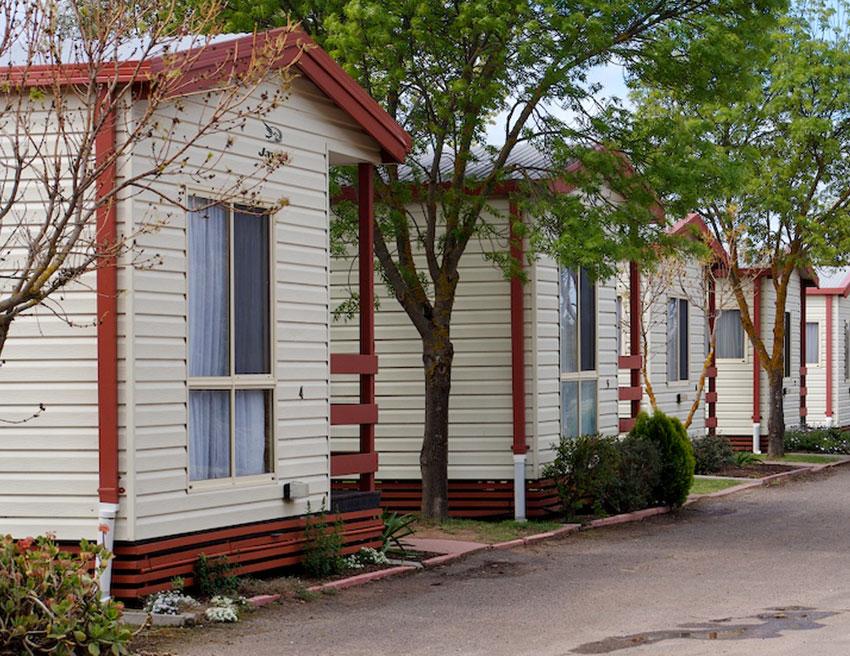 Cabin Horsham Holiday Park Accommodation Grampians Victoria